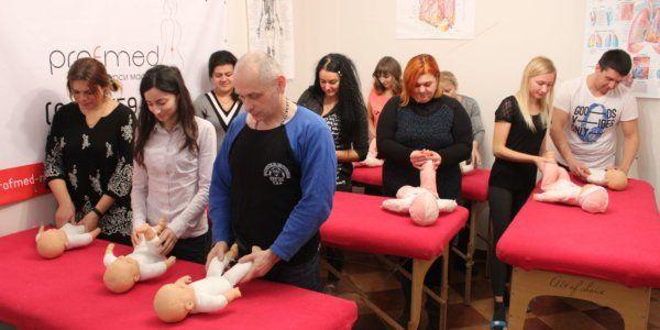 Детский массаж обучение